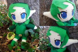 Saria Plushie by frillycarnival