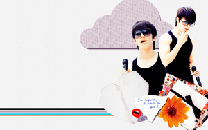 Donghae wallpaper 2 by sparklingwater