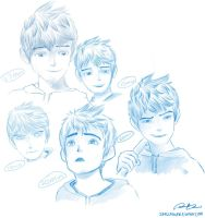 Many Faces of Jack Frost by Virdigris