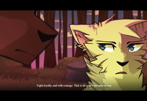 Warrior cats | Ivypool by art-of-a-spirit