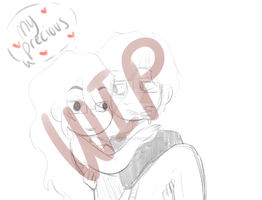 Me and My Baby WIP by Ask-MayaTheElf