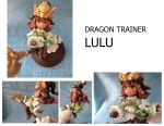 Dragon trainer Lulu figurine. by Hojin-tron