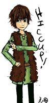 HTTYD : Hiccup Sketch by DarkHalo4321