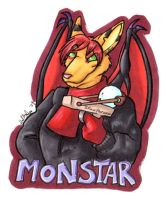 Monstar Badge by hollyann