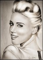 Amber Heard Drawing by LordFarbror