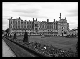 Saint-Germain-en-Laye BnW by BluePalmTree
