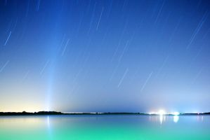 Untitled Star Trail II by emorydunn