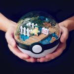 Snorlax Block Rout - Poke Ball Terrarium by The-Vintage-Realm