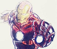IRON MAN by RaphtureTARTS