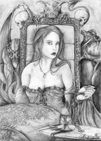 The queen of sins by Asthenot