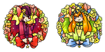 Flower Wreaths by kuroeko