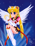 Eternal Sailor Moon by SailorBomber