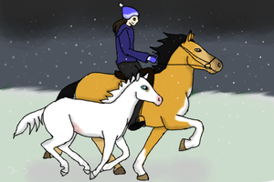 Day Two: Running amock in the snow by Experimentor-Iblis