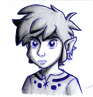 Young Skyward Sword Link by BlueLink