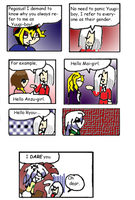 YGO Comic by Jhessail