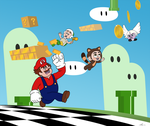 WIR Game Jump: Super Mario Bros. 3 by KrDoz
