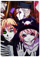 The Magic Club's Halloween by Shiraishi-Amaya