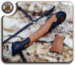 Custom Leather Backquiver Browntan by Lucky-Leather