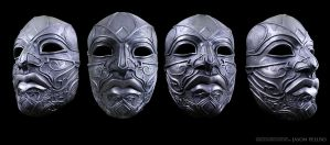 Assassins Creed Turkish Mask Nickel Version by Jay-Michael-Lee