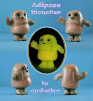 A wee fat monster by eyefeather