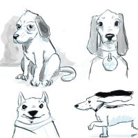 Dog doodle by cluis