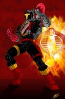 G.I.JOE Crimson B.A.T. by Venom20XX