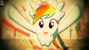 rainbow dash hug PNG by illumnious
