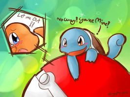 Pokemon :: Squirtle-Charmander