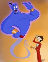 Robin Williams R.I.P by Hasaniwalker