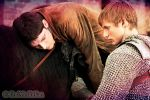 Merlin and Arthur by MagicalPictureMaker