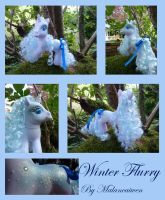 MLP Custom Winter Flurry by Malancaiwen