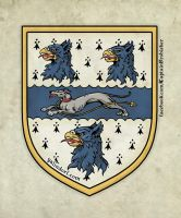 Captain Sir Martin Frobisher Crest by Galindorf