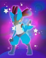 lucario painting by Lucora