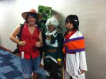 Luffy and Outlaw Star at Animate Miami 2013 by BigJaa