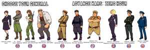 Advance Wars: ZH full roster by CarrionTrooper