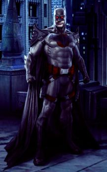 FlashPoint Paradox - The Wrong Batman. by M4W006