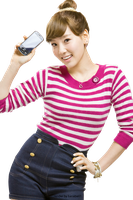 [Render] Taeyeon for LG Phone by HanaBell1