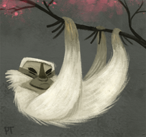 Sloth Doodle by Cryptid-Creations