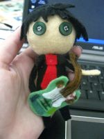 Billie Joe Armstrong Plushie by pearlandfrog13