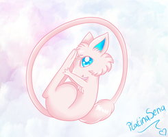 Little Mew by PlatinaSena