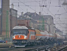 MMV Phoenix in Gyor with freight on 2010 by morpheus880223