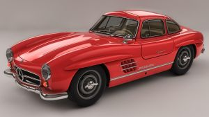 Mercedes Benz 300 SL by SamCurry