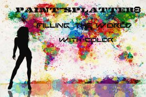 filling the world with color by paint-splatter8