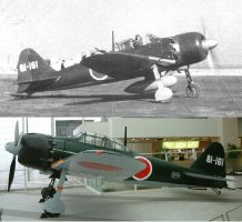 A6M Then and now by Genbe89