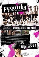 ANTM custom DVD Cover by j-nury