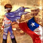 :.STAND UP CHILE.: by nennisita1234