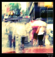 Rainy day by Frall