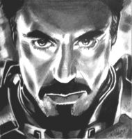 the iron man by Mehdiunkut