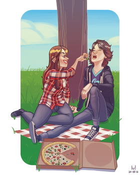 Pizza is love, pizza is life! by animatorlu