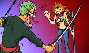 Zoro's Death by cromarlimo